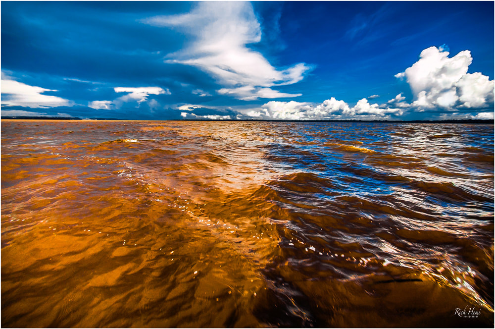 Rio Negro and Rio Solimoes, Manaus, Amazon rivers meeting, the joining of the Amazon rivers, travel Manaus,