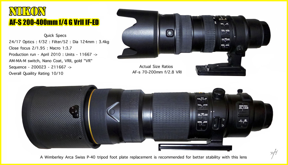 Nikkor 200-400mm f/4G ED VRII, global travel with an AF-S Nikkor 200-400mm f/4G ED VRII