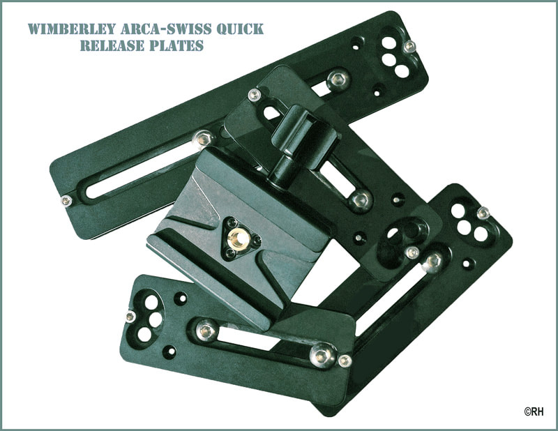Wimberley arca swiss quick release plates for camera lenses