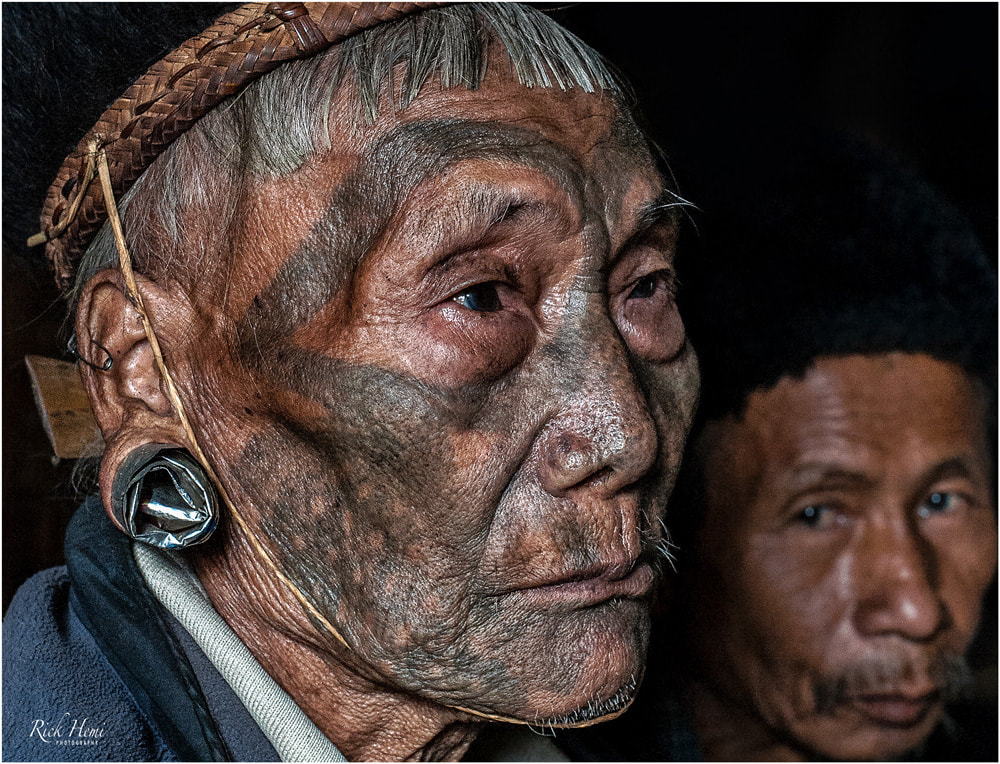 Headhunters Nagaland, the Konyaks, tribal tattoos, Asia travel and transit overland, Asian tribal headhunters,
