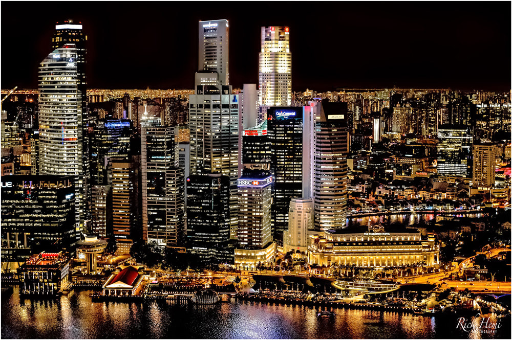 Nikon 58mm f/1.2 NOCT lens, night photography Asia, night cityscapes Asia, solo travel Singapore