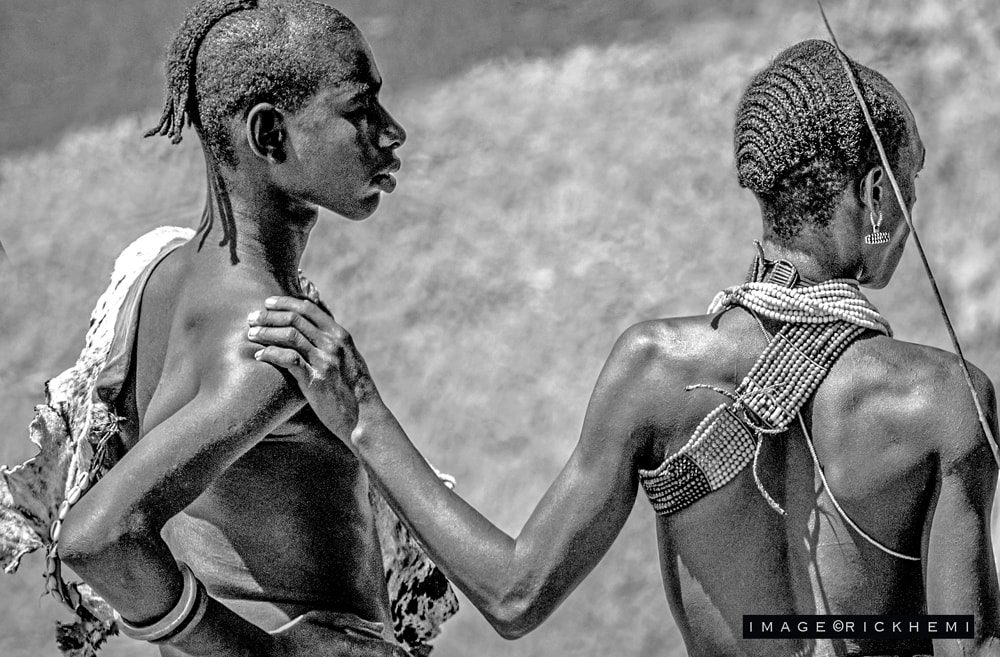 tribal image Africa by Rick Hemi