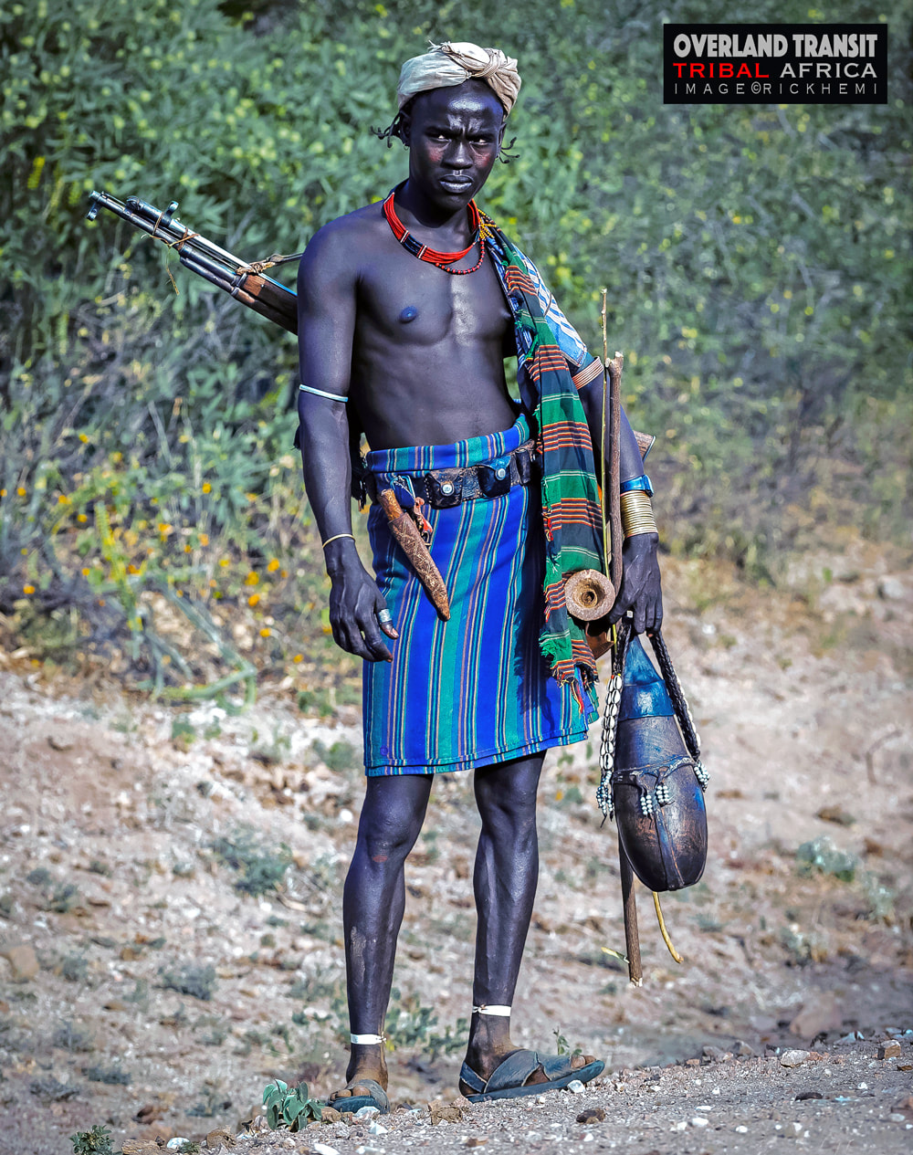 overland travel and transit Africa, solo travel Africa, tribal lands Africa, image by Rick Hemi