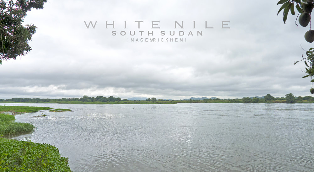 overland travel Africa, White Nile river South Sudan, image by Rick Hemi