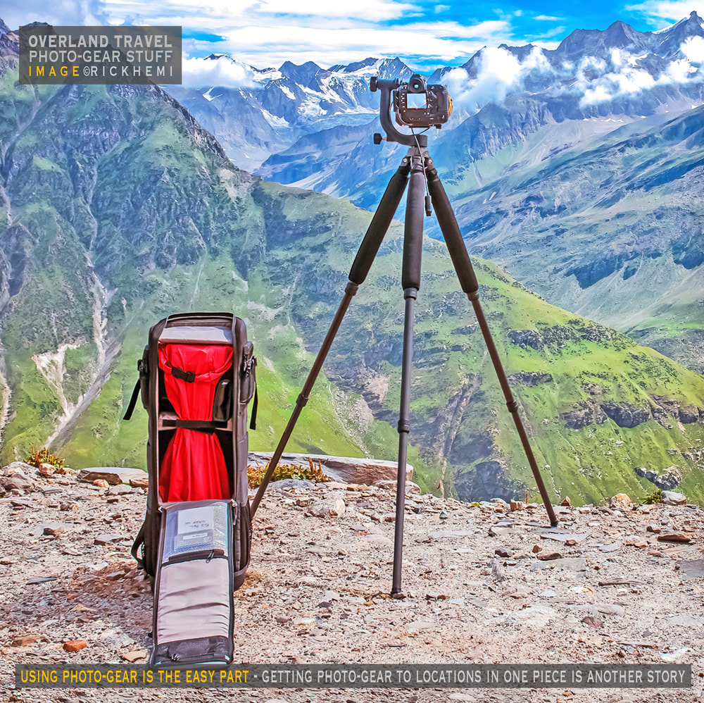 overland travel and transit with photo-gear, image by Rick Hemi