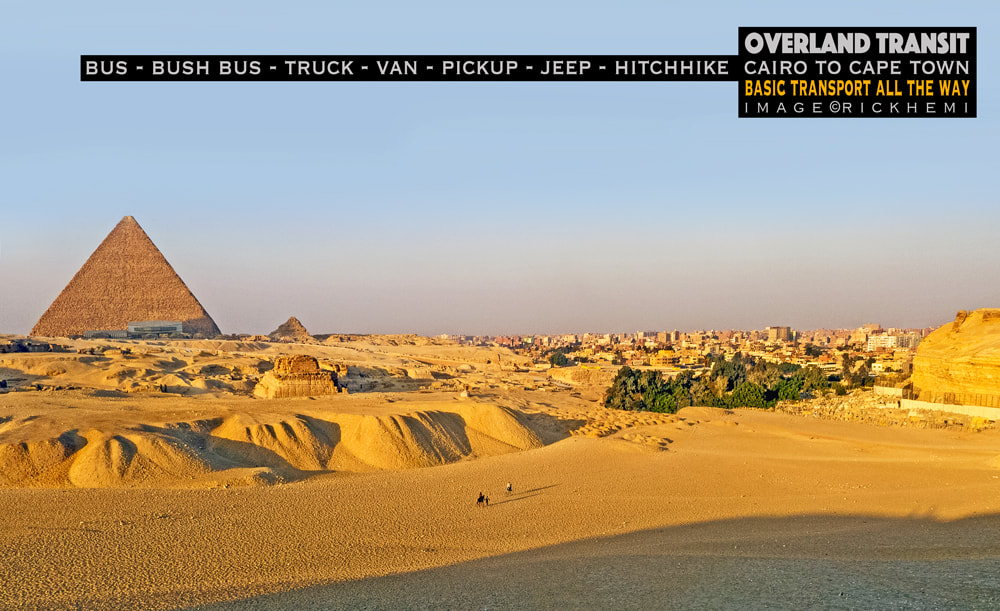 solo overland transit Africa, northern gateway into Africa, image by Rick Hemi