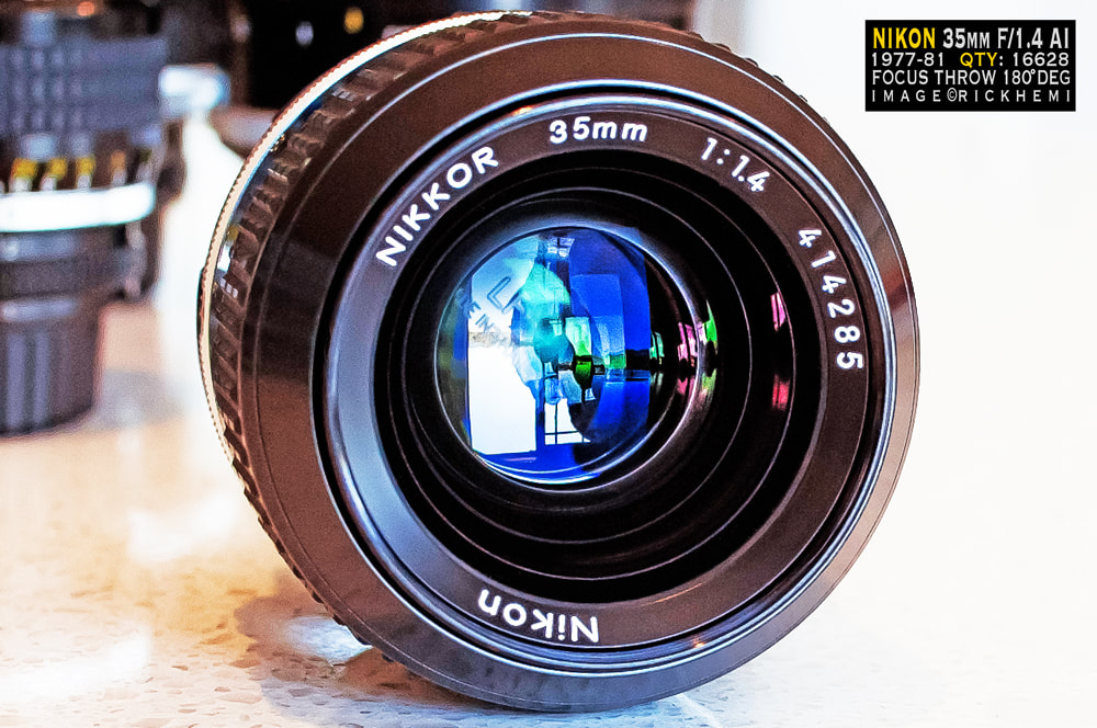 overland travel camera-gear, Nikon classic 35mm f/1.4 AI lens, image by rick hemi