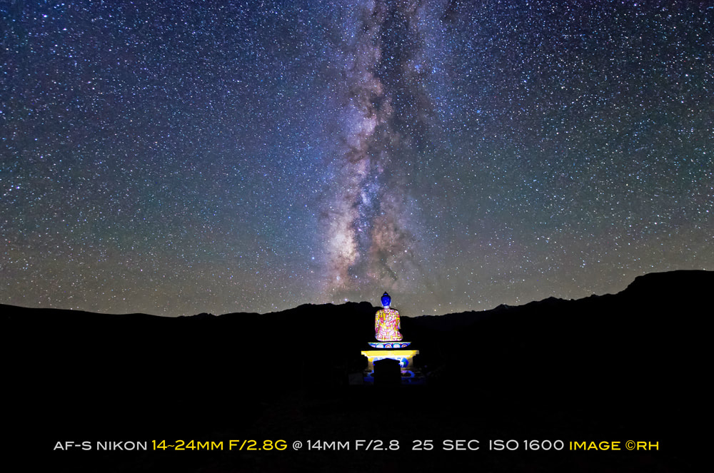 overland travel photo-gear, Nikon AF-S 14-24mm f/2.8G lens, astro snap by rick hemi