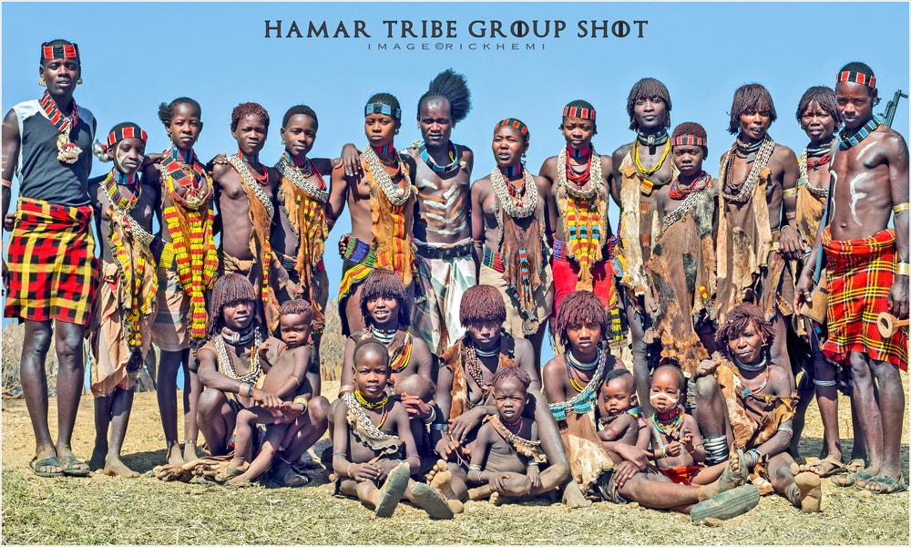 tribal group shot by rick hemi Africa