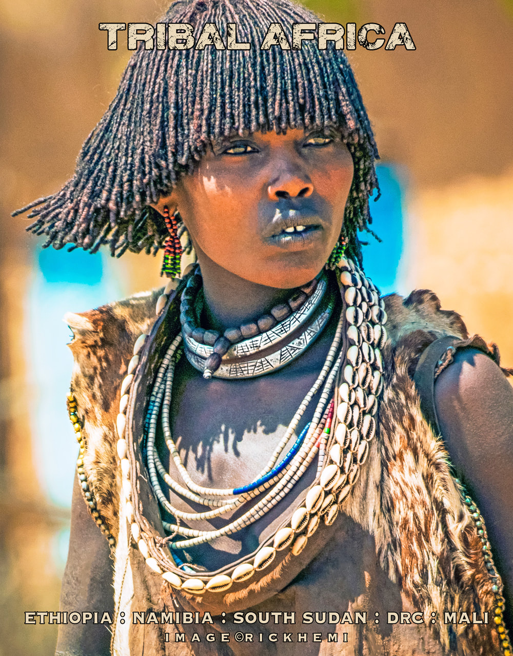 Africa solo travel, tribal lands image by Rick Hemi