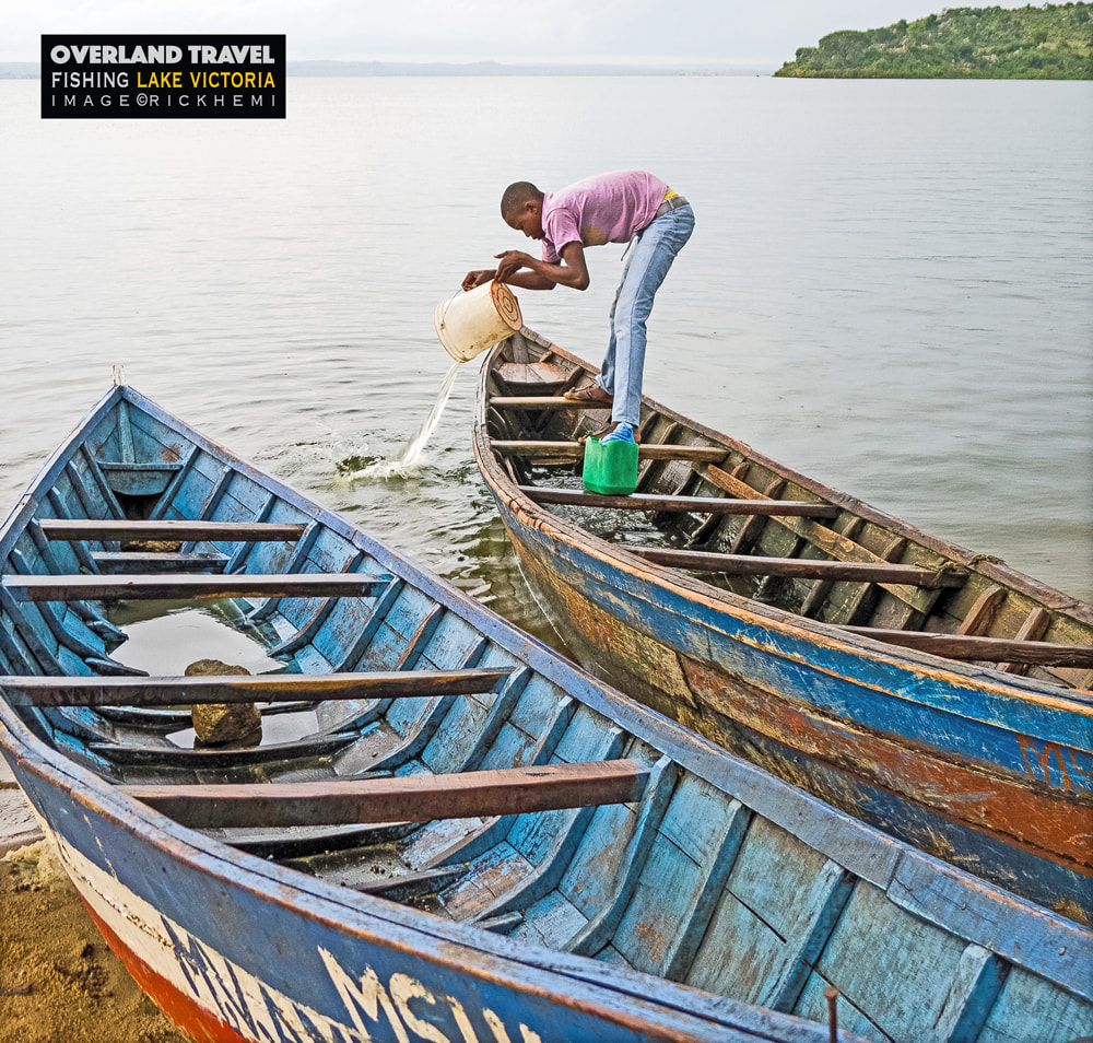 overland travel and transit Africa, going fishing lake Victoria, image by Rick Hemi