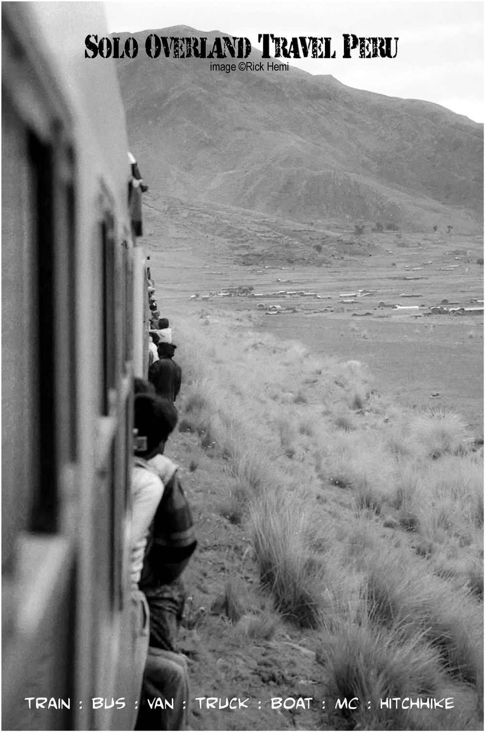 solo overland travel and transit, Peru, Bolivia, Ecuador, slow trains through the Andean block,