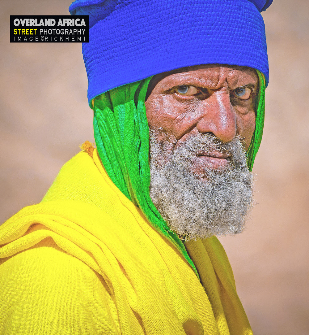 solo travel Africa, overland travel street photography, image by Rick Hemi
