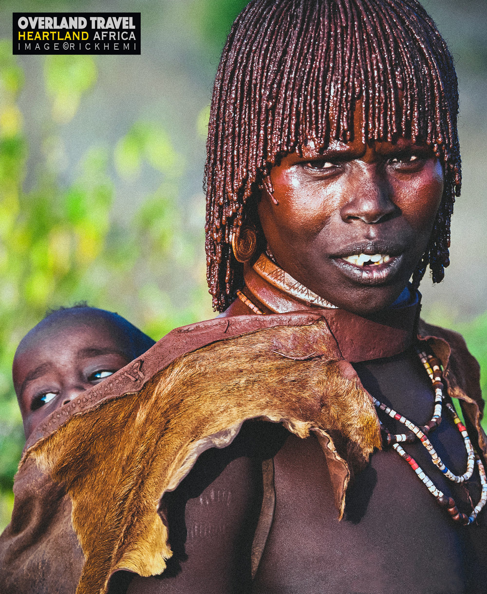 solo travel, Africa overland, tribal lands, image by Rick Hemi
