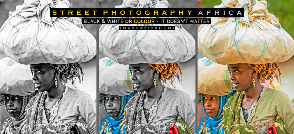 street photography Africa, black & white or colour-it doesn't matter, image by Rick Hemi