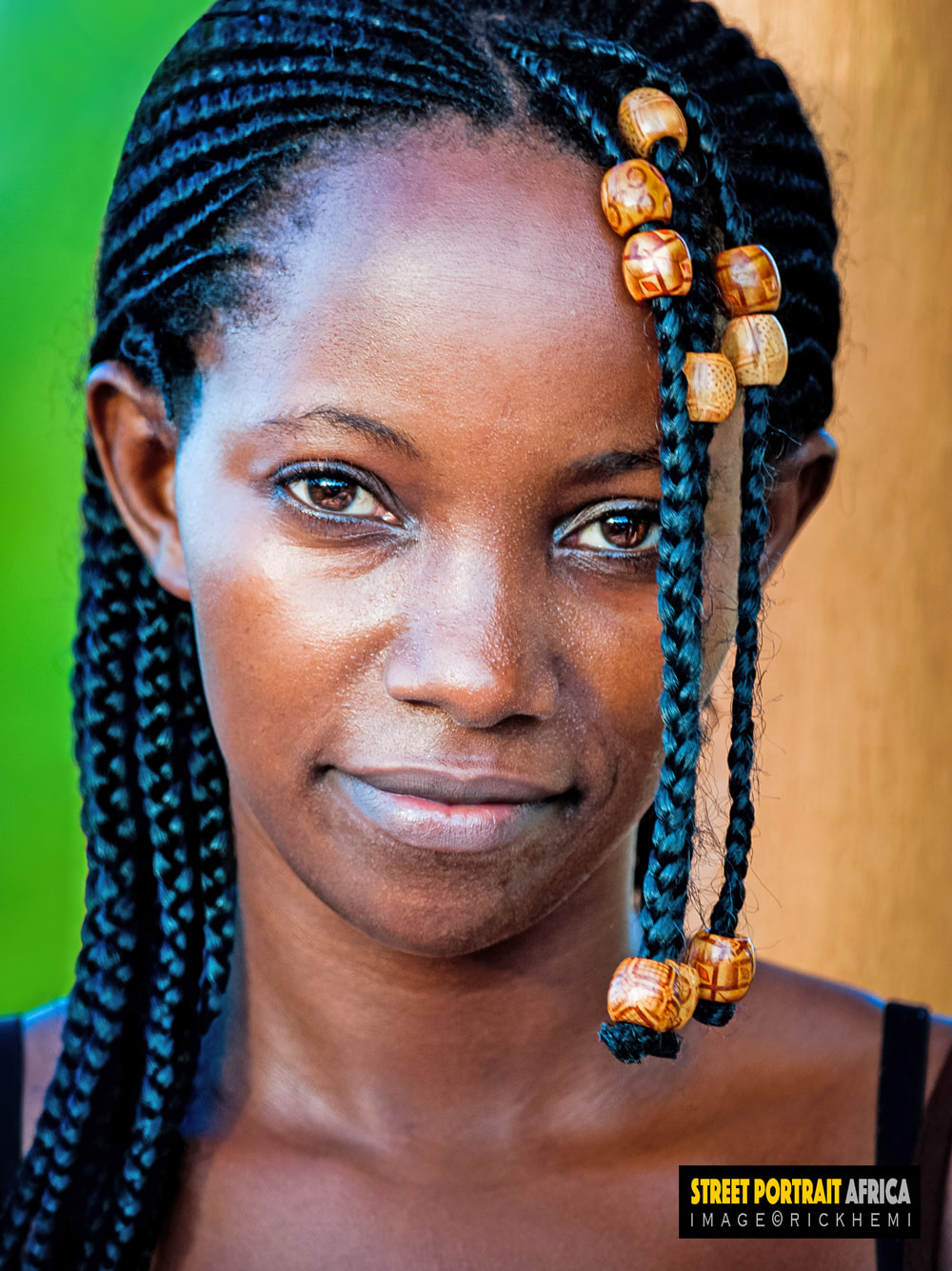 overland travel and transit Africa, street portrait, image by Rick Hemi
