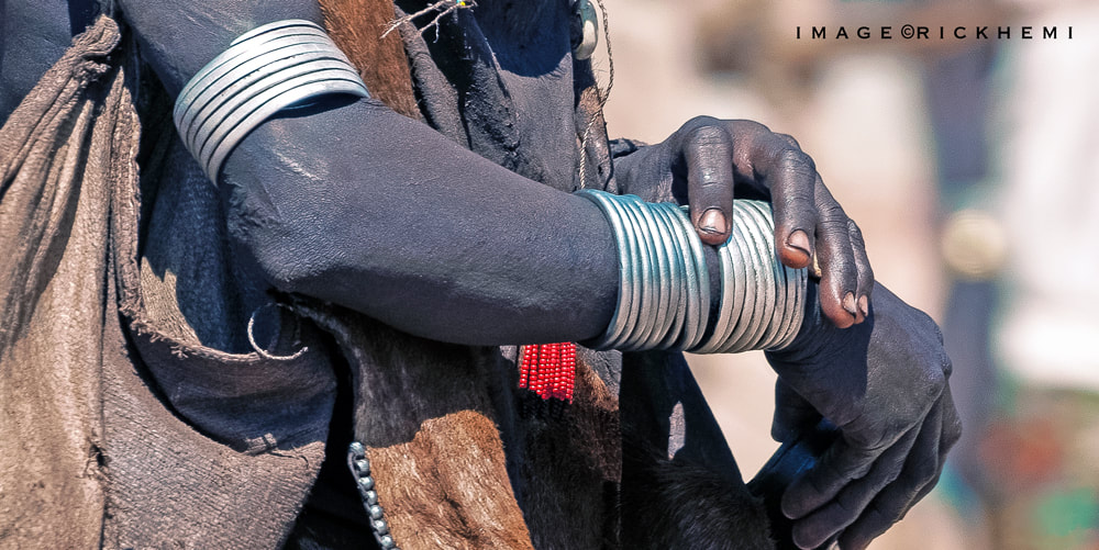 street snap Africa, tribal bangles image by Rick Hemi